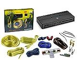 900 watt - Package: JL Audio RD900/5 900W RMS RD-Series NexD Class-D 5-Channel Amplifier + Absolute KIT 4 4 Gauge Amp Kit Amplifier Install Wiring Complete