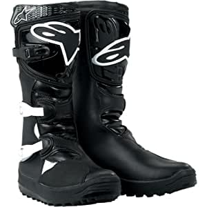 Alpinestars No Stop Trials Boots , Distinct Name: Black, Size: 6, Gender: Mens/Unisex, Primary Color: Black 2004011NN6