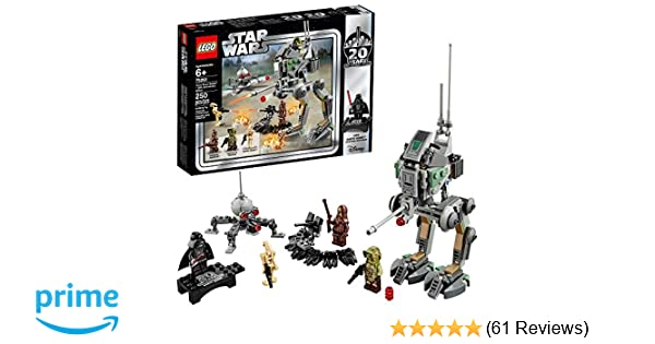 LEGO Star Wars Clone Scout Walker – 20th Anniversary Edition 75261 Building  Kit (250 Piece)