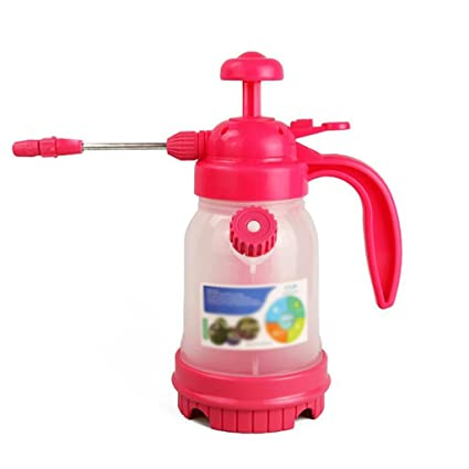 Wddwarmhome regadera rosa 1,8 l plástico casa botella de spray botella de rociador riego