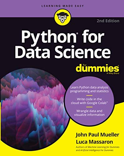 Python for Data Science For Dummies, 2nd Edition (For Dummies (Computer/Tech))