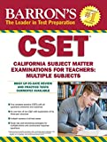 #10: Barron's CSET: California Subject Matter Exams for Teachers: Multiple Subjects