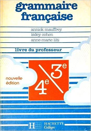 Telecharger Ebook Pour Itouch Grammaire Francaise 4eme 3eme