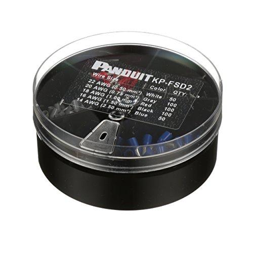 Panduit KP-FSD2 Vinyl Insulated Ferrule Kit, #22 - 14 AWG by Panduit (Image #2)