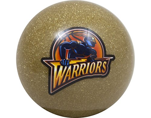 NBA Imperial Golden State Warriors Pool Billiard Cue/8 Ball - Gold (Warriors State Pool Golden)