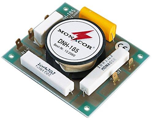 Monacor - Filtro Mono de Paso Alto (250 W, 5500 Hz, para Alta fidelidad y megafo
