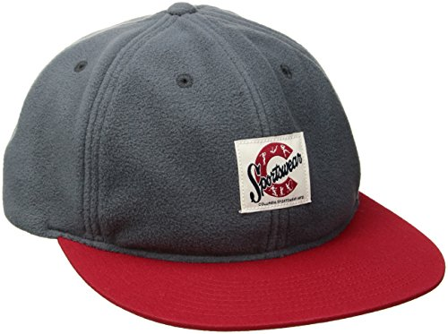 Columbia Bugaboo Fleece Hat, Graphite/Mountain Red, One ()