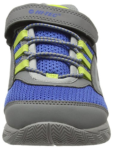 Hi Tec High 051 Junior Rise Cobalt Grey Grey Unisex Hiking Boots Limoncello Thunder Kids' qTUwqxSFRp
