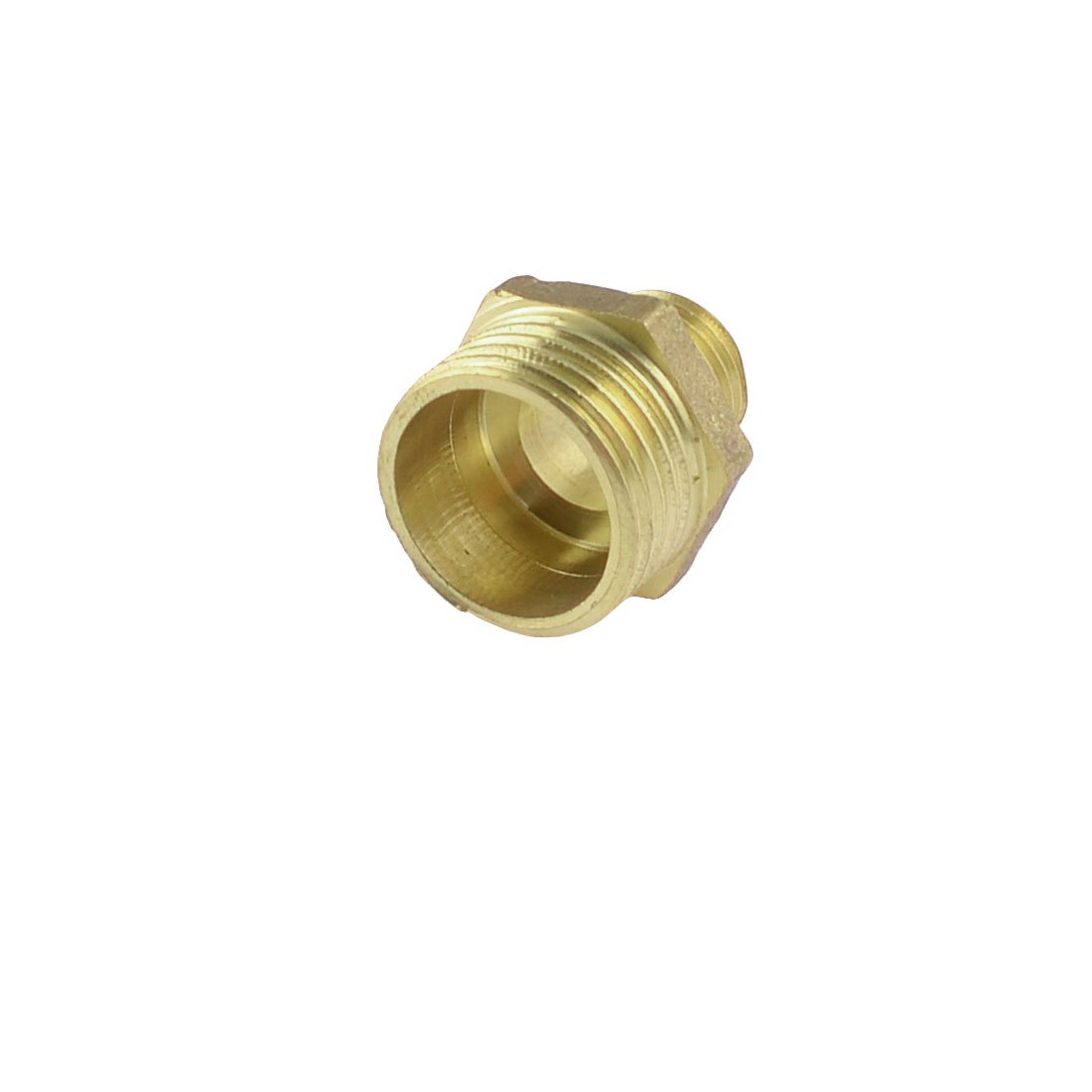 "1//2/""PT to 1//2/""PT Male Thread Brass Hex Nipple Pneumatic Quick Coupler 2pcs"