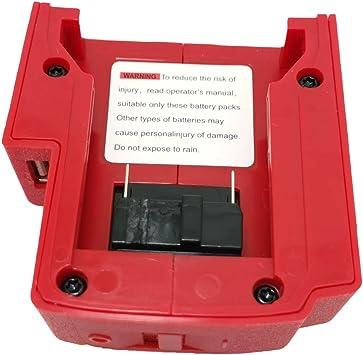 15V-21V USB Ladegerät Adapter Stromquelle Für Milwaukee 49-24-2371 M18