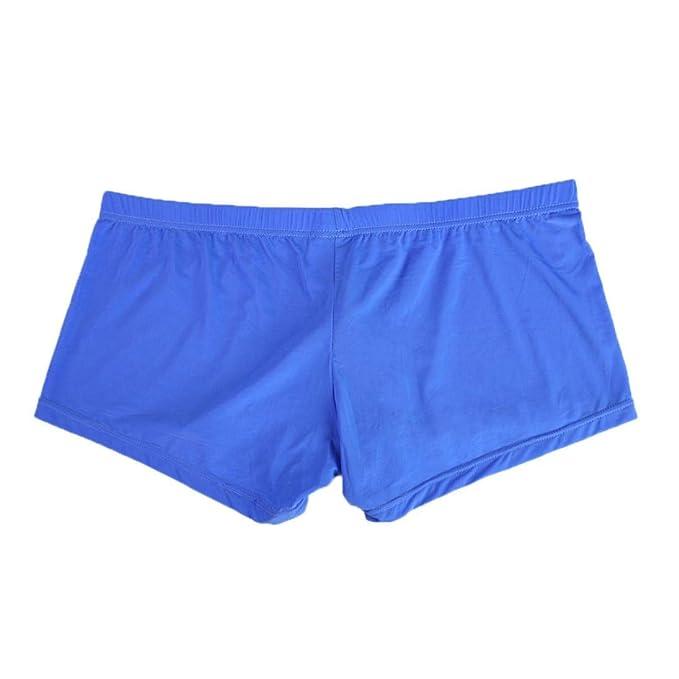 Boxer Ajustado para Hombre, BBestseller La Ropa Interior de Nylon Pantalones Cortos Braga Briefs: Amazon.es: Ropa y accesorios