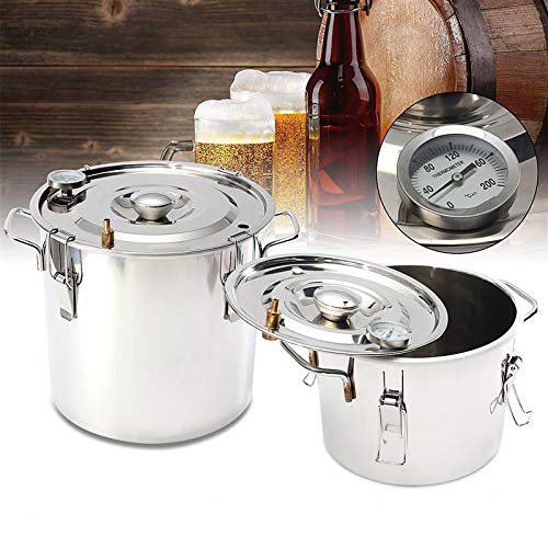 ECO LLC 5Gal Alcohol Distiller Water Distiller Stainless Copper 20L Boiler Home Brew Kit by ECO LLC (Image #4)