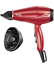 Babyliss 6604RPE Hair Dryer - Red, 2000 W