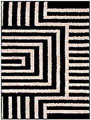 Tapete para Sala 100 x 150 cm Art Black e White Desenho 01 Oasis