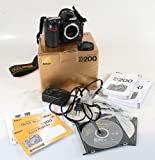 US-MARKET NIKON D200 CAMERA BODY AND ACCESSORIES IN ORIG. BOX