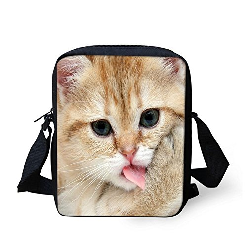 TAOTINGYAN Schulrucksack, Schultasche,Rucksäcke (23 X 17 X 6 Cm) Crossbody-Tasche Leinwand Kinder, Zwei Vier