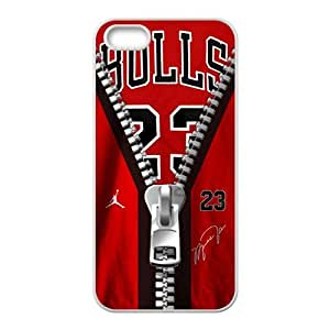Creaitve Pattern Bulls 23 Zipper Fahionable And Back Case For HTC One M8 Cover