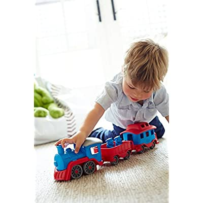 Green Toys Train - Blue: Toys & Games
