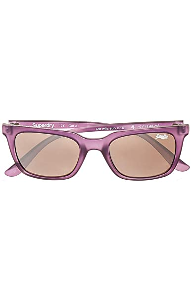 Superdry SDR MIA Gafas de Sol, Multicolor (Matte Purple ...