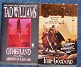 Lot 2 Fantasy Soul of Fire By Terry Goodkind Book 2 & Mountain of Black Glass By Tad Williams Book 3 (Paperbacks) (Otherland & Stone of Tears)
