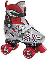 Roller Derby Boy's Trac Star Adjustable Roller Skate, Large
