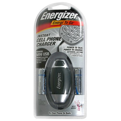 - Energizer Energi-To-Go Battery Operated Instant MINI & MICRO USB Cell Phone Chargers Only