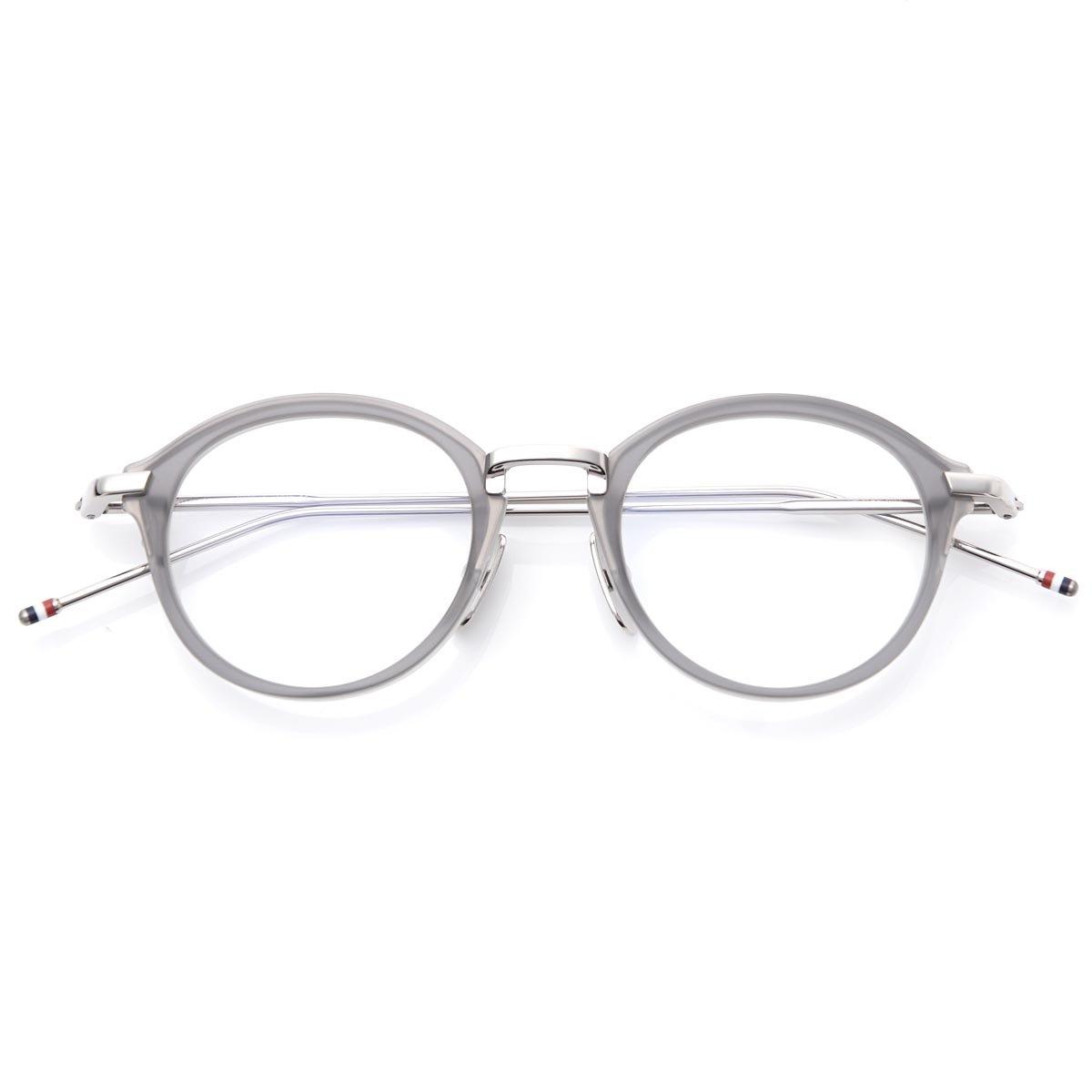 (トムブラウン) THOM BROWNE. 眼鏡/メガネ/オーバル [並行輸入品] B075JD2M7X   46