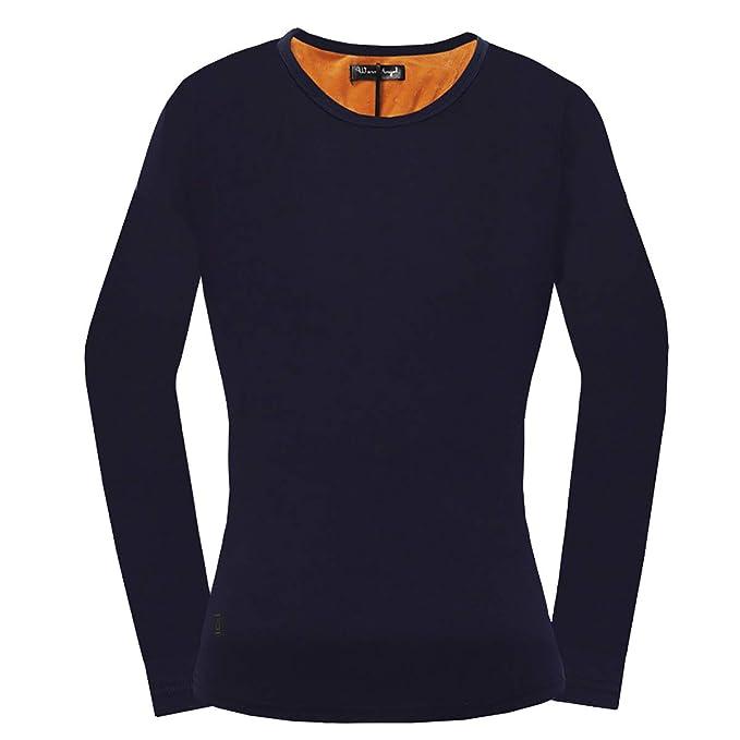 Warmly - Abrigo para la Nieve - para Mujer Azul Navyblue S