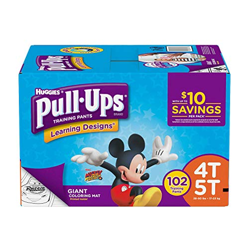 (Huggies® Pull-Ups® Training Pants for Boys Size: 4T-5T 102 Count )