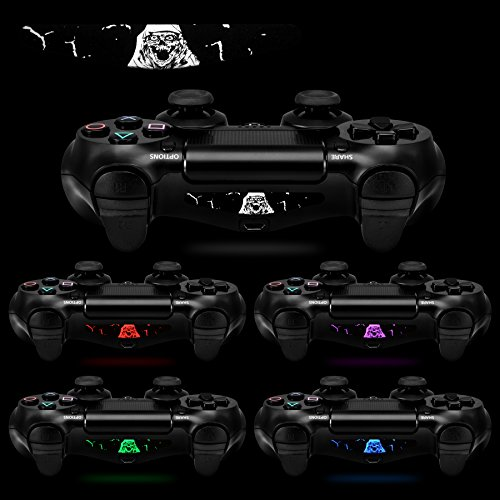 Extremerate 60 pcsset custom color scary ghost light bar sticker extremerate 60 pcsset custom color scary ghost light bar sticker decals for playstation 4 ps4 ps4 slim ps4 pro remote controller cover skins ps4gamer aloadofball Choice Image