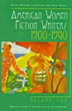 American Women Fiction Writers, 1900-1960, , 0791044815