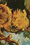 img - for 2017 Daily Planner/ Diary: Van Gogh Sunflower shine - 2017 Monthly calendar year, scheduler daily planner. Professional layout designed to increase ... Gogh's illustrated Profile. (BWM Collection.) book / textbook / text book