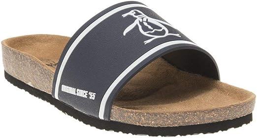 Penguin Preen Mens Sandals Navy