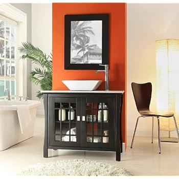 Asian Flair Liam Vessel Sink Bathroom Vanity HF80855