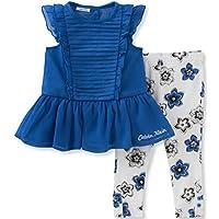Baby Girls' 2 Piece Tunic and Printed Legging Set-Gingham