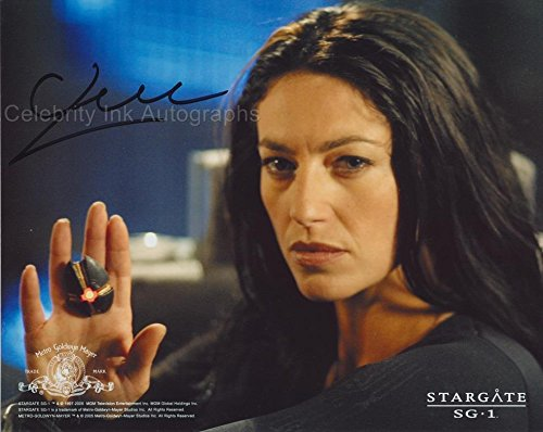 CLAUDIA BLACK as Vala Mal Doran - Stargate SG-1 GENUINE AUTOGRAPH