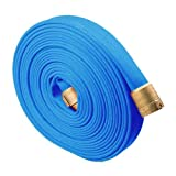 Blue 2 1/2'' x 50' Potable Water Hose with Brass NH Couplings