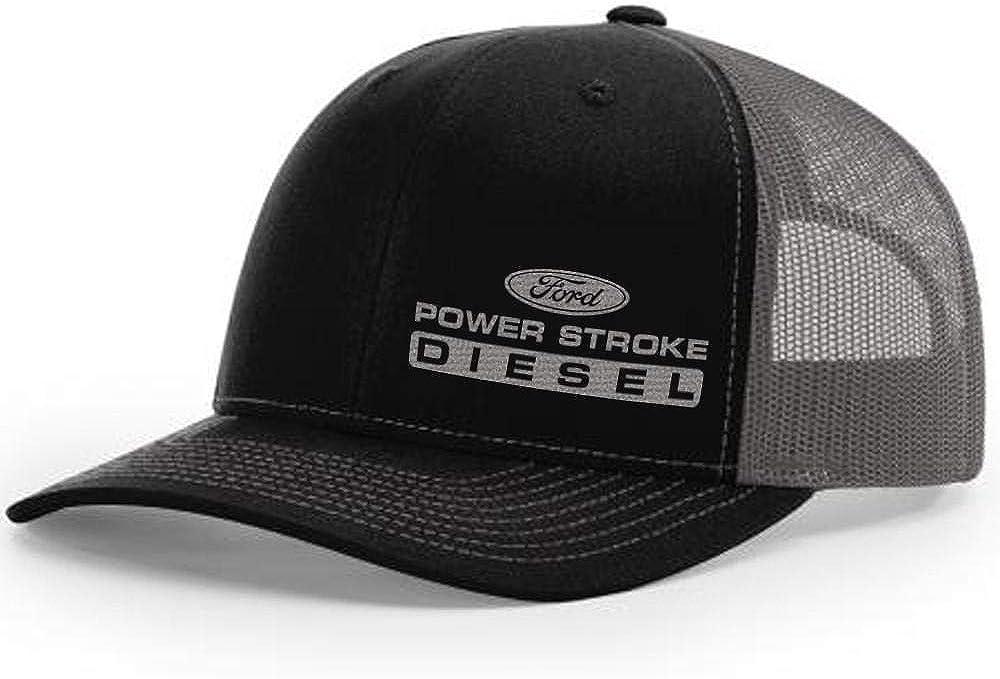 Diesel Tees Power Stroke Trucker Snapback Hat 112