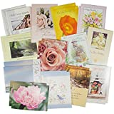 Bundle - 25 Pack Assorted Greeting Cards with Envelopes All Occasion Gifts Value Variety