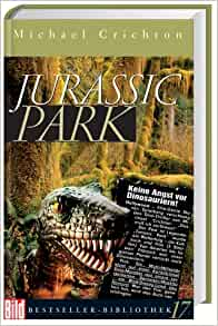 When was the book jurassic park published