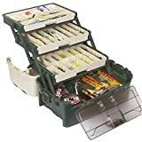 Search : Plano Tackle Systems Hybrid 3 Tray Tackle Box, Heavy Duty Tackle Storage