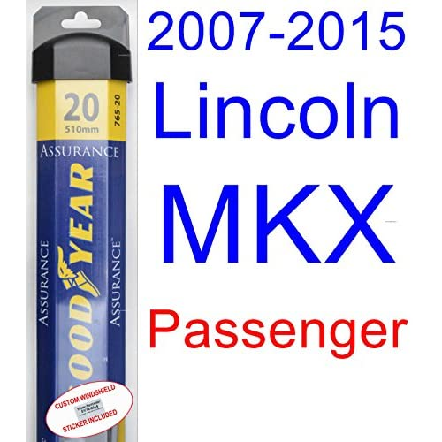2007-2015 Lincoln MKX Wiper Blade (Passenger) (Goodyear Wiper Blades-Assurance) (2008,2009,2010,2011,2012,2013,2014) for cheap syCPJpor