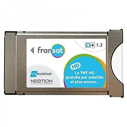 Samsung - Fransat CAM Ci+ con Tarjeta Fransat para TV ...