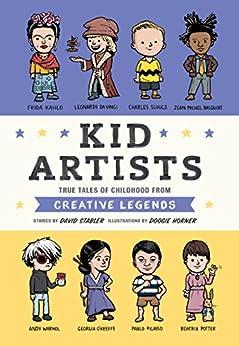 Kid Artists Childhood Creative Legends ebook product image