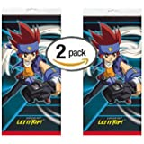 """2 Pack Beyblade Plastic Table Cover 84"""" x 54"""""""