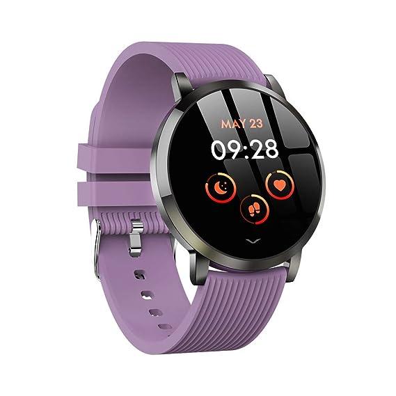 Smartwatch Mujer Hombre, Impermeable Reloj Inteligente ...