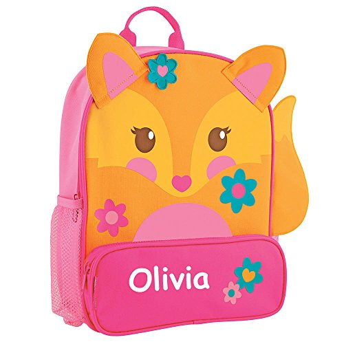Hounds Orange (Stephen Joseph Personalized Little Girls' Sidekick Fox Backpack With Name)