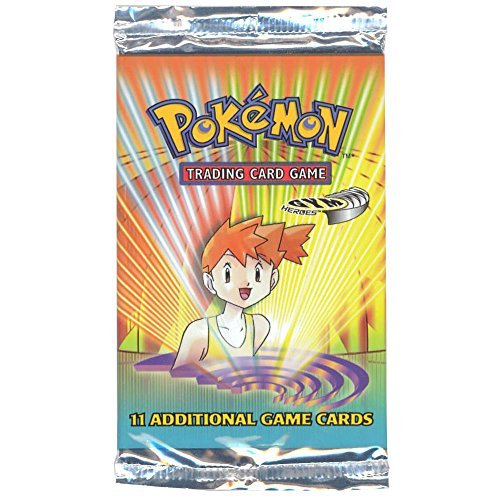 - Pokemon Gym Heroes American Trading Card Game Booster Pack