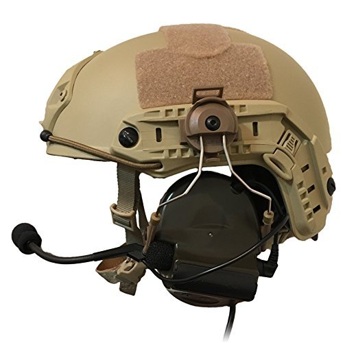 Z-Tac Special Troops Favorite Design ZTAC COMTAC ? Headset OPS CORE Standard Type Tactical Helmet ARC Rail Adapter (DE) [Japanese Distributor Genuine Products]