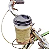 Cruzy Kuzy Bike Cup Holder Handmade by Hide & Drink :: Waxed Canvas